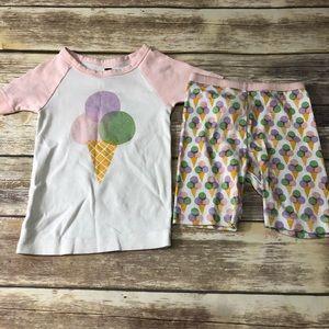Tea Ice cream pajamas